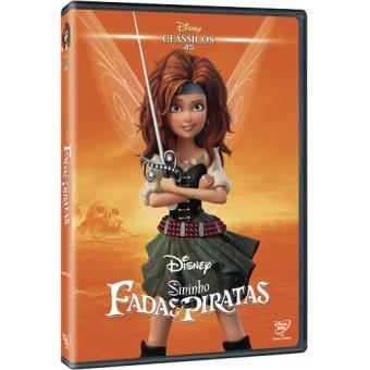 Sininho: Fadas e Piratas - Edição Clássicos Disney - DVD