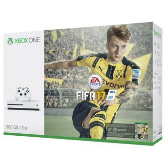 Consola Microsoft Xbox One S 500GB + FIFA 17