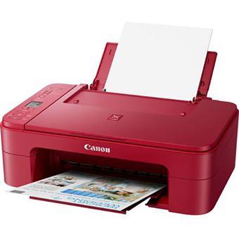 Impressora Multifunções Canon PIXMA TS3350 - Vermelho