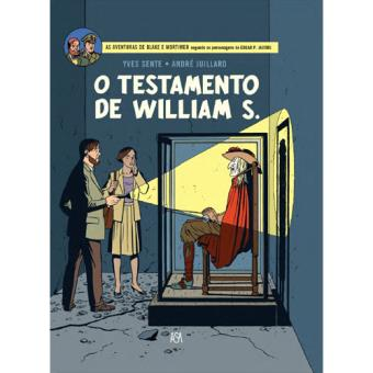 As Aventuras de Blake & Mortimer - Livro 34: O Testamento de William S. - Capa Exclusiva