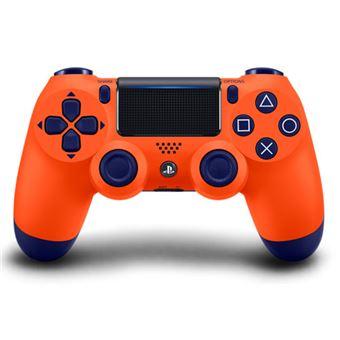 Comando Dualshock 4 Sunset Orange - PS4