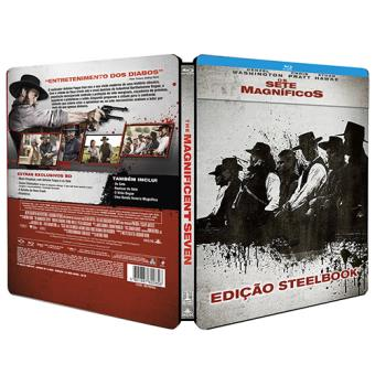 Os Sete Magníficos - Edição Caixa Metálica Exclusiva Fnac (Blu-ray)