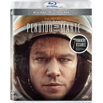 Perdido em Marte (Blu-ray 3D + 2D)