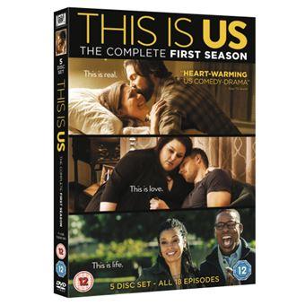 This Is Us - Season 1 - 5DVD Importação