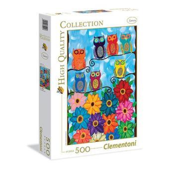 Puzzle Cute Little Owls (500 peças)
