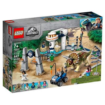 LEGO Jurassic World 75937 Fúria de Triceratops