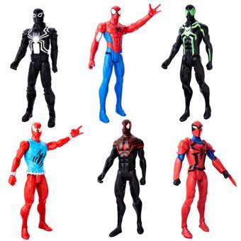 Spiderman Web Warriors Figura 30cm - Hasbro - Envio Aleatório