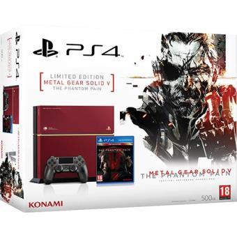Consola Sony PS4 500GB + Metal Gear Solid V: The Phantom Pain Edição Limitada