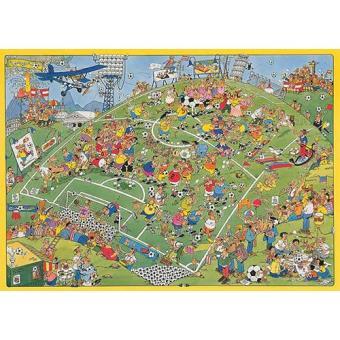 Puzzle Comic Futebol (500 peças)