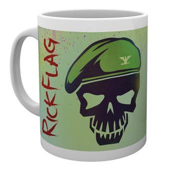 Suicide Squad - Caneca - Rick Flag Skull