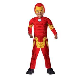 Disfarce Iron Man - Tamanho T 1 a 2 Anos