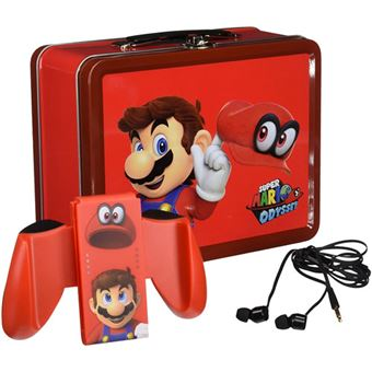 Lunch Box Kit Super Mario Odyssey - Nintendo Switch