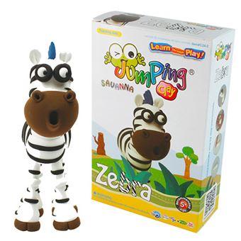 Savanna Series Set Zebra - JumpingClay