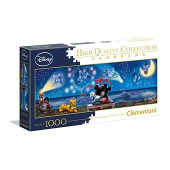 Puzzle Mickey & Minnie - 1000 peças - Clementoni