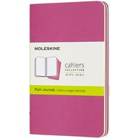 Caderno de Bolso Liso Cahier Moleskine Set de 3