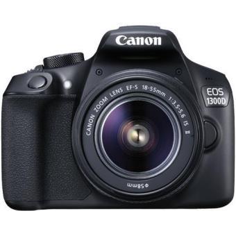 Canon EOS 1300D + EF-S 18-55mm f/3.5-5.6 IS II Kit