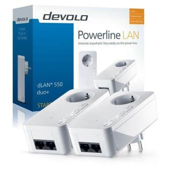 Devolo PLC Powerline dLAN 550 Duo+ Starter Kit 9301
