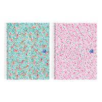 Caderno Pautado em Espiral Oxford - Bloom, A5 - Envio Aleatório