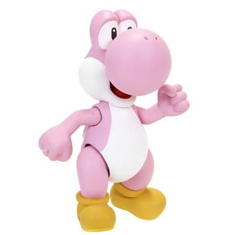 Nintendo Yoshi Figure with Egg Accessory - Pink