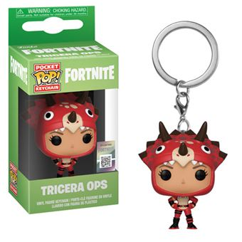 Funko Pop! Porta-Chaves Fortnite: Tricera OPS