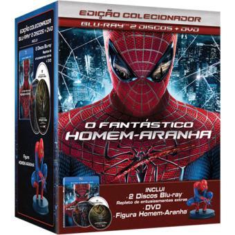 O Fantástico Homem-Aranha - Edição Especial Estátua (Blu-ray + DVD)