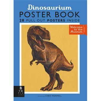 Dinosaurium Poster Book