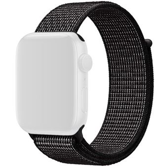 Bracelete Loop Desportiva Nike para Apple Watch 44mm - Preto
