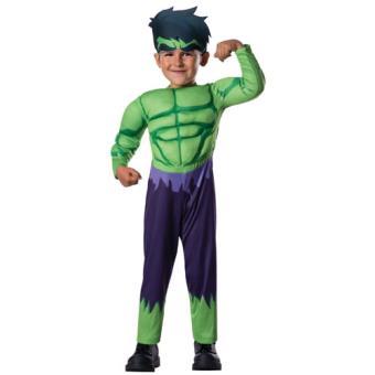 Disfarce Hulk - Tamanho T 1 a 2 Anos