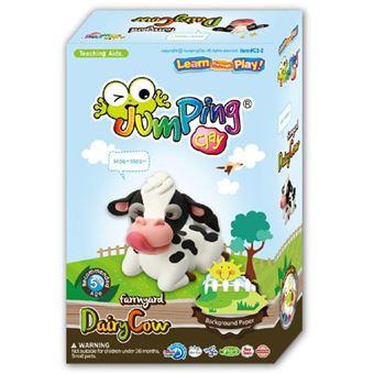 Farmyard Series Set Dairy Cow - JumpingClay