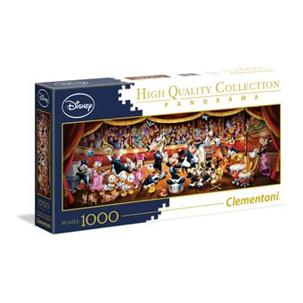 Puzzle Disney Orquestra - 1000 Peças - Clementoni