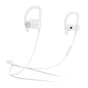 Beats by Dr. Dre Powerbeats 3 Gancho de orelha, Intra-auditivo Binaural Bluetooth Branco auricular para telemóvel