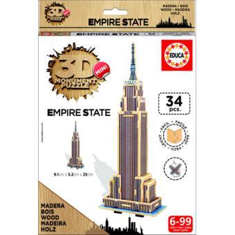 Puzzle 3D Mini Monument Empire State Building - Educa