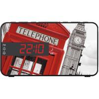 Rádio Despertador BigBen Telephone Box RR15