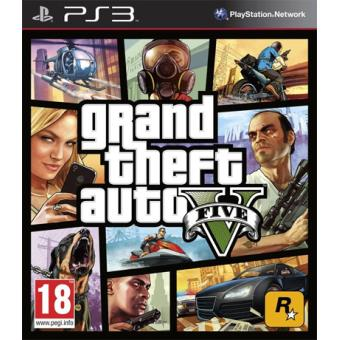 Grand Theft Auto V PS3 (GTA V)
