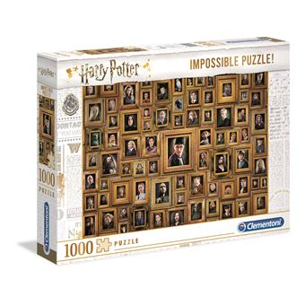 Puzzle Harry Potter Impossible 1000 Peças - Clementoni