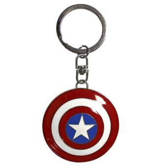Porta-Chaves 3D Captain America Shield