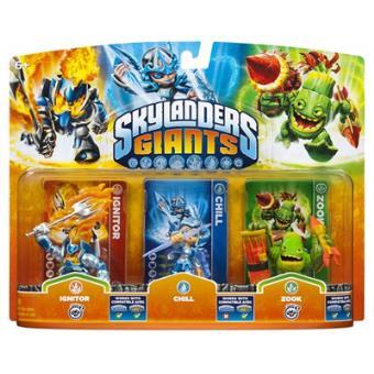 Skylanders: Giants - Triple Pack B