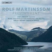 Rolf Martinsson - Presentiment - SACD