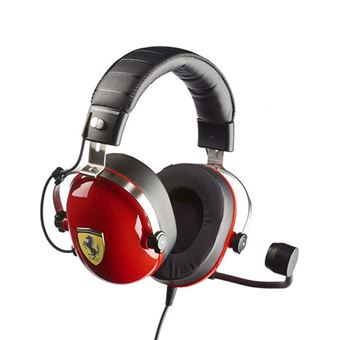 Auscultador Gaming Thrustmaster T.Racing Scuderia Ferrari - Edição Especial
