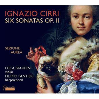 Cirri: 6 Sonatas Op2 - CD