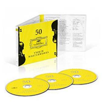 50 Violin Masterworks - 3CD