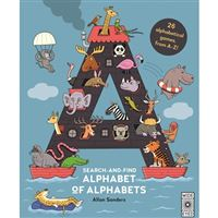 Search and Find: Alphabet of Alphabets