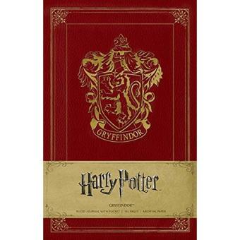 Caderno Pautado Harry Potter - Gryffindor A5