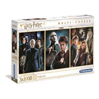 Puzzle Harry Potter 3 x 1000 Peças - Clementoni