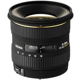 Sigma Objetiva 10-20mm f/4-5,6 EX DC (Canon)