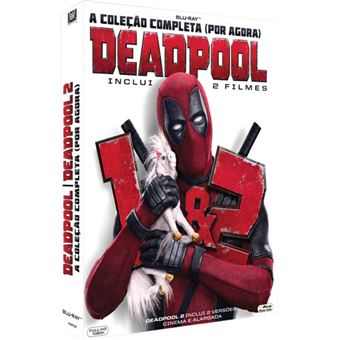 Pack Deadpool 1 + 2 - 2 Blu-ray