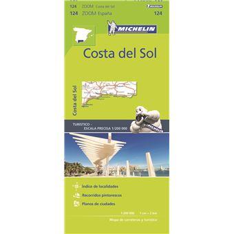 Mapa Michelin Zoom 124 - Espana: Costa del Sol