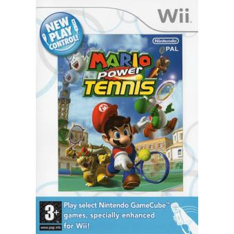 New Play Control! Mario Power Tennis Wii