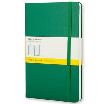 Caderno Quadriculado Moleskine Bolso Verde