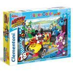 Puzzle Maxi Mickey Roadster - 24 Peças - Clementoni 25d03192a9cbb